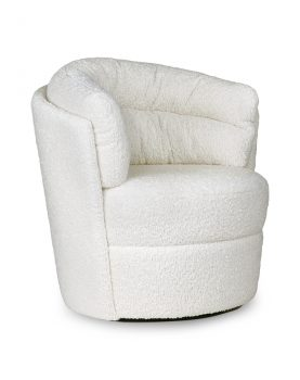 HKliving twister fauteuil cream-28775