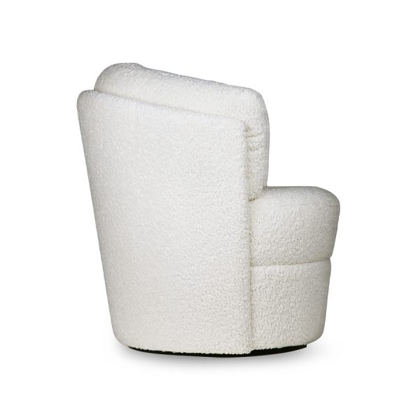 HKliving twister fauteuil cream-28776