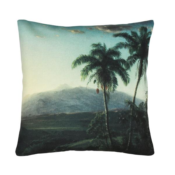 printed cushion palm landscape (45x45)-0