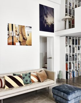 HKliving jacquard weave greek column cushion (35x50)-28813