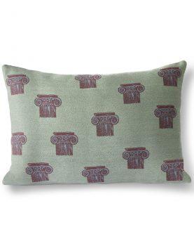 HKliving jacquard weave greek column cushion (35x50)-0