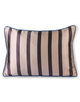 satin/velvet cushion bown/taupe (35x50)-0