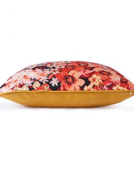 printed floral cushion coloured (50x50)-28840