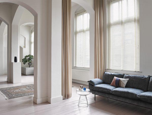 HKliving printed cotton/jute rug stonewashed (180x280)-28910