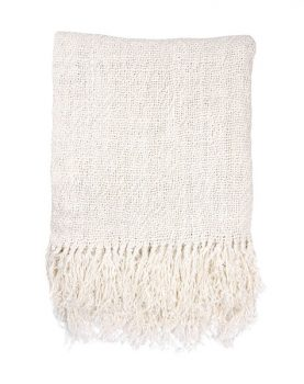 linen throw white (130x170)-0