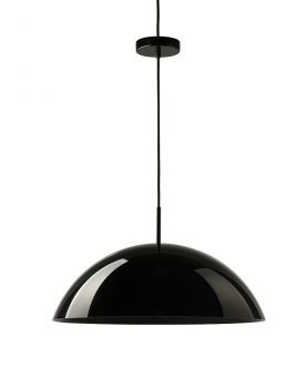 HKliving acrylic cupola hanging lamp black-0