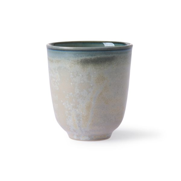 home chef ceramics: mug grey/green-0