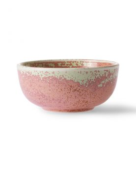 home chef ceramics: bowl rustic pink-0