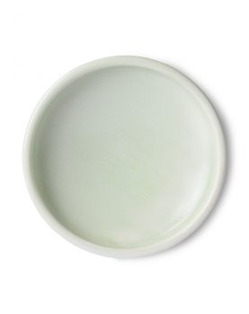 home chef ceramics: side plate mint green-0