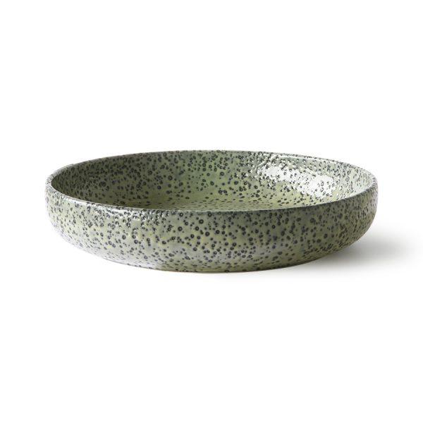 gradient ceramics: deep plate green (set of 2)-0