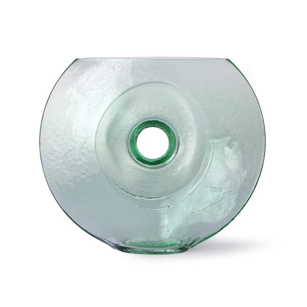 glass circle vase-0