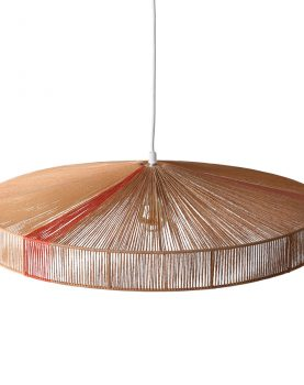 HKliving pendant rope lamp terra shades-29443
