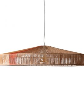 HKliving pendant rope lamp terra shades-0