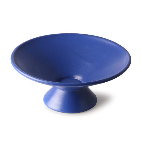 fruit bowl on base matt cobalt