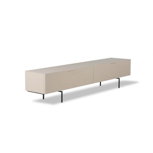 tv cabinet wood grain 167cm sand
