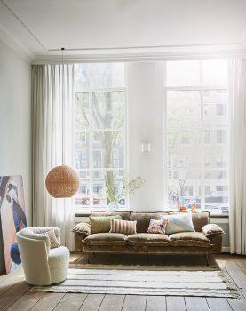 retro sofa: 2-seats