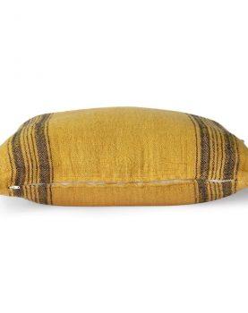 linen cushion mustard (45x45)