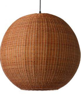 bamboo pendant ball lamp 60cm