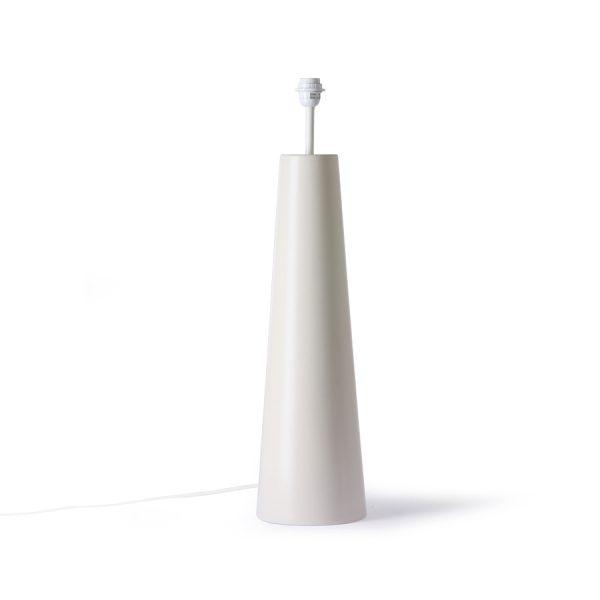 retro cone floor lamp XL cream