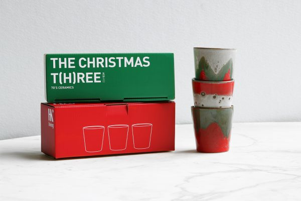 ceramic 70's mugs: the christmas t(h)ree-32316
