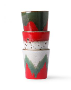 ceramic 70's mugs: the christmas t(h)ree-32315