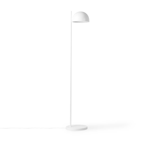 HKliving vloerlamp mat wit ball shade-32330