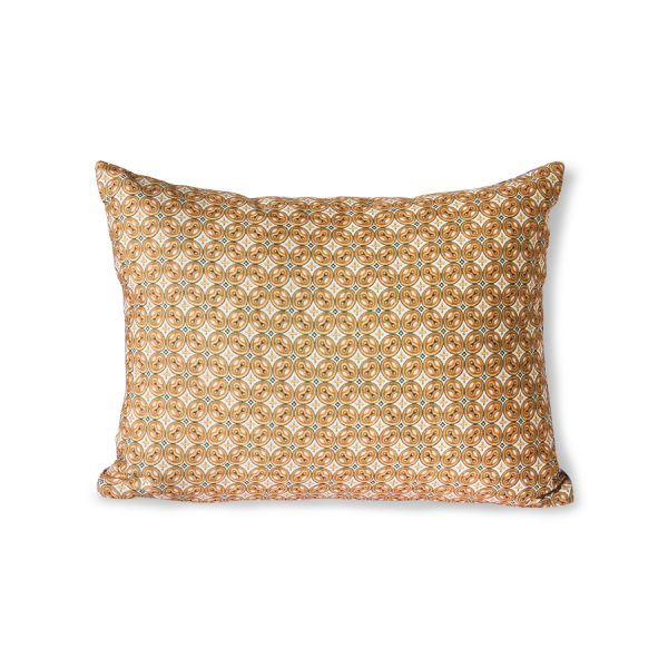 DORIS for HKLIVING: printed cushion purple (30x40)