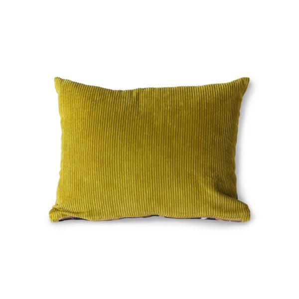 DORIS for HKLIVING: printed/rib cushion flakes (30x40)