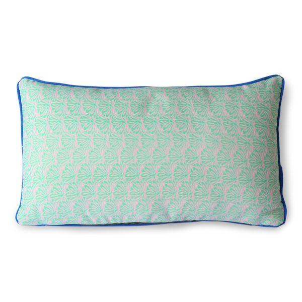 DORIS for HKLIVING: printed cushion brown (35x60)