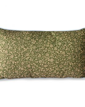 DORIS for HKLIVING: printed cushion blue (35x60)