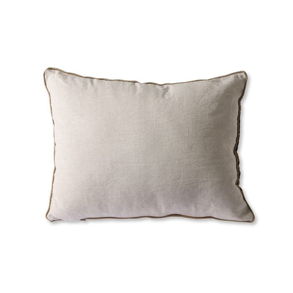 DORIS for HKLIVING: cushion flock print panther (30x40)