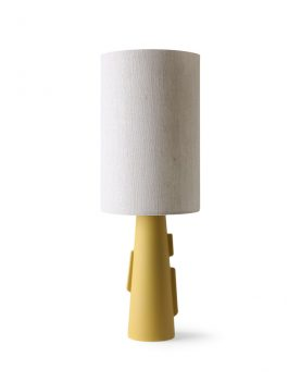 HKliving cilinder lamp shade natural linen ø24,5-32365