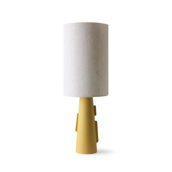 HKliving cone lamp base S with handles matt green-32370