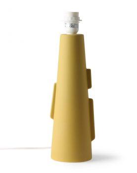 hkliving-lampenvoet-tafellamp-mat-groen-cone-S-vol5082