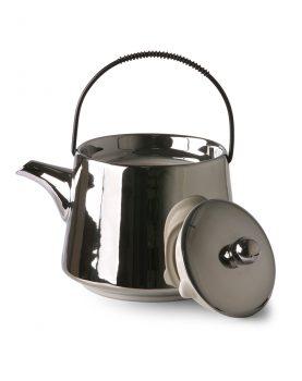 bold & basic ceramics: tea pot silver