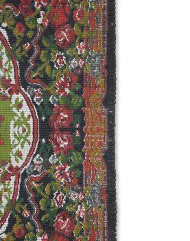 printed rose kelim rug (120x180)