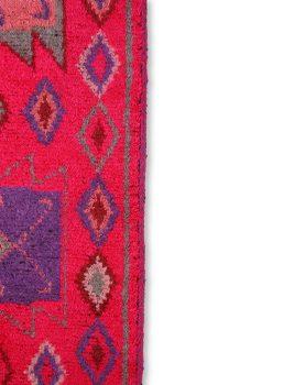 woolen runner pink (70x200)