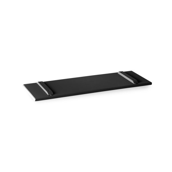 outdoor lounge sofa tray charcoal