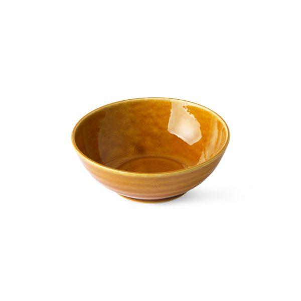 Kyoto ceramics: japanese soup bowl brown