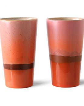 70s ceramics: latte mug