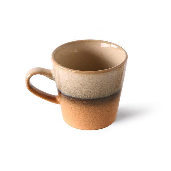 70s ceramics: americano mug