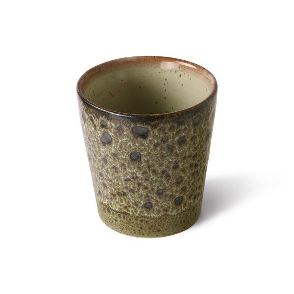 70s ceramics: coffee mug