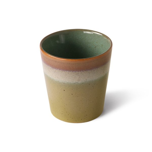70s ceramics: coffee mug