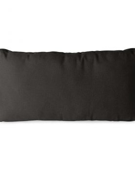 outdoor lounge sofa cushion set black (UKFR)