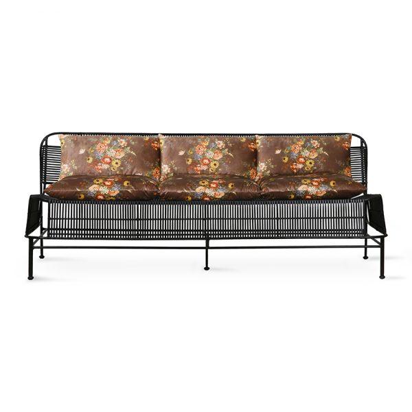 lounge sofa cushion set printed velvet