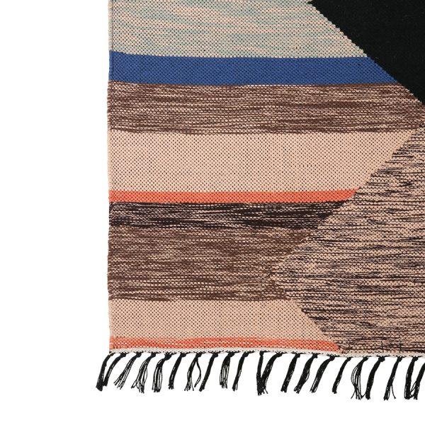 hand woven indoor/outdoor rug multicolour (120x180)