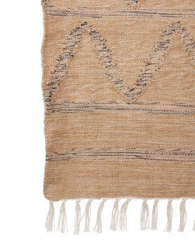 hand woven indoor/outdoor rug natural (120x180)