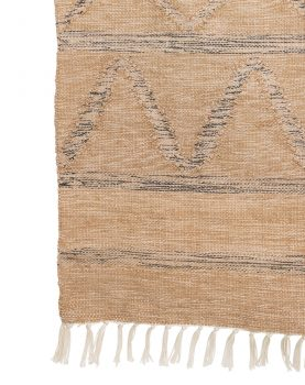 hand woven indoor/outdoor rug natural (150x240)
