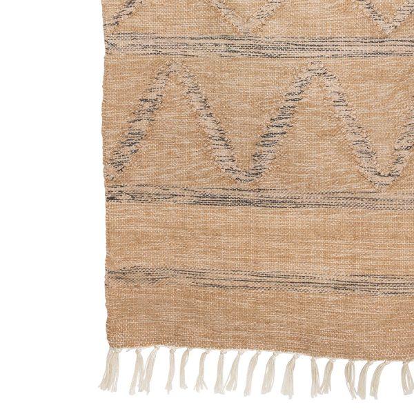 hand woven indoor/outdoor rug natural (150x240)