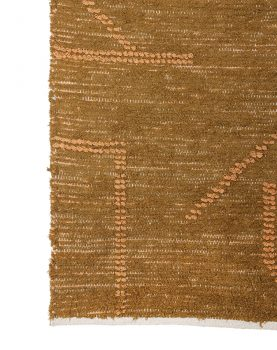 hand woven cotton runner mustard/honey (70x200)